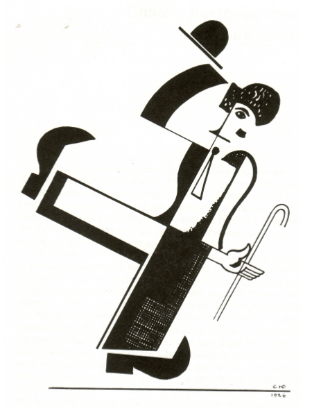 """Charlot"", Serge Youtkévitch, 1921. Musée du cinéma, Paris. © Bubbles Incorporated SA"